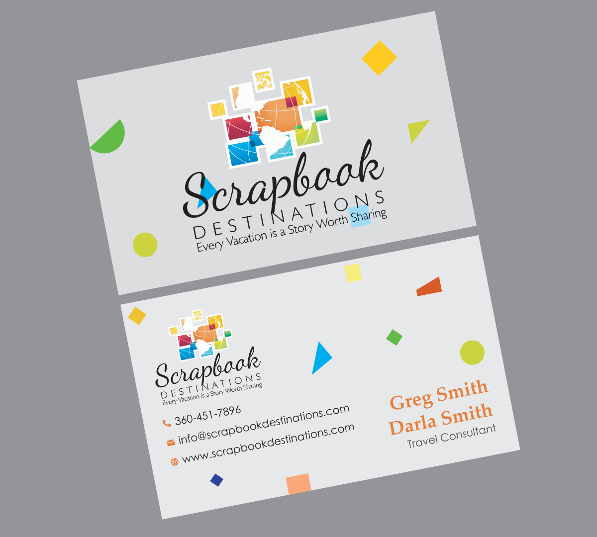 Professional, Modern, Travel Agent Business Card Design for ...