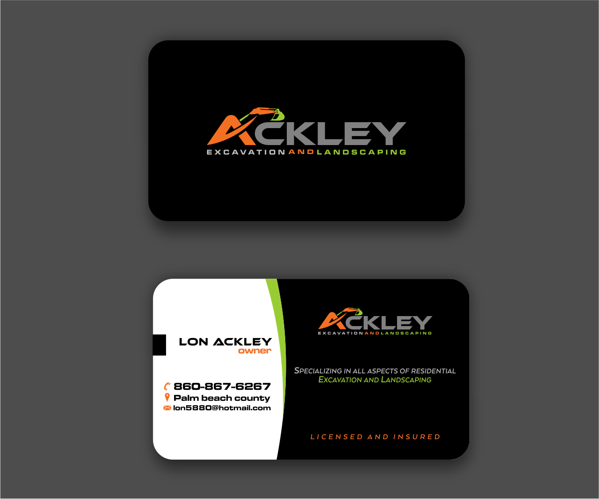52 bold business card designs landscaping business card design business card design by tt design for this project design 15086155 colourmoves