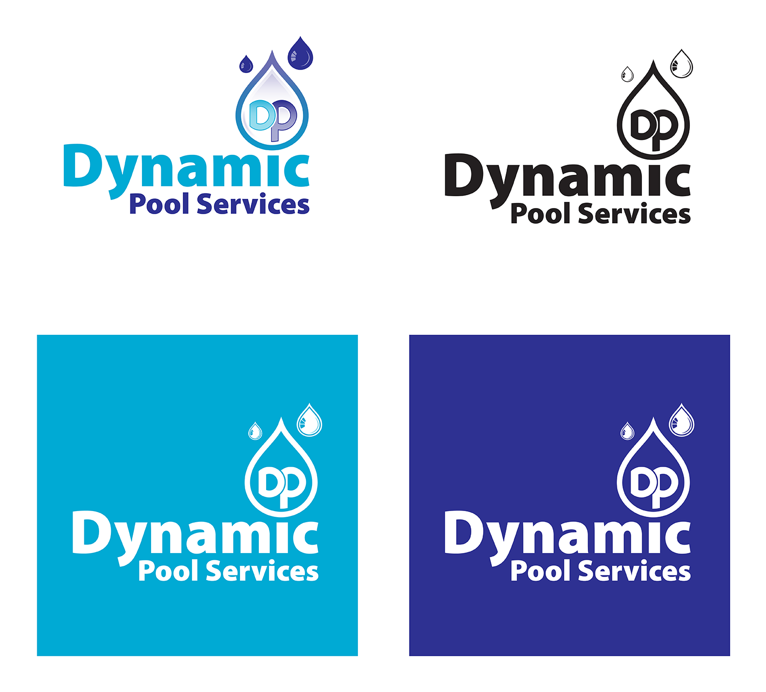pool service logo. Logo Design By Terry For Dynamic Pool Services | #15067001 Service E