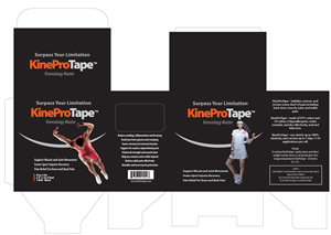 Packaging Design by wiesnuadji - Kinesiology tape product need a great packaging...