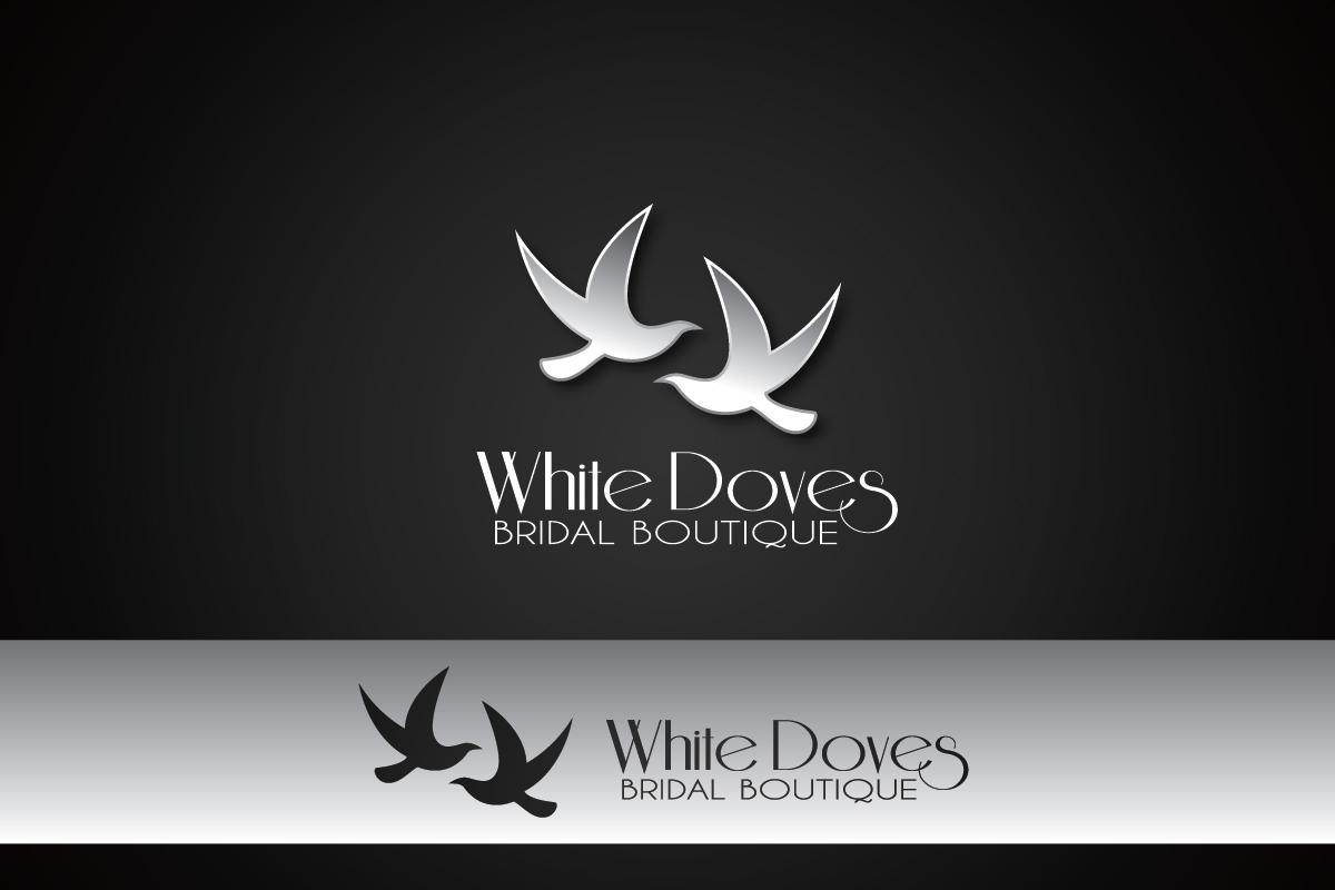 Upmarket, Professional, Business Logo Design for White Doves Bridal ...