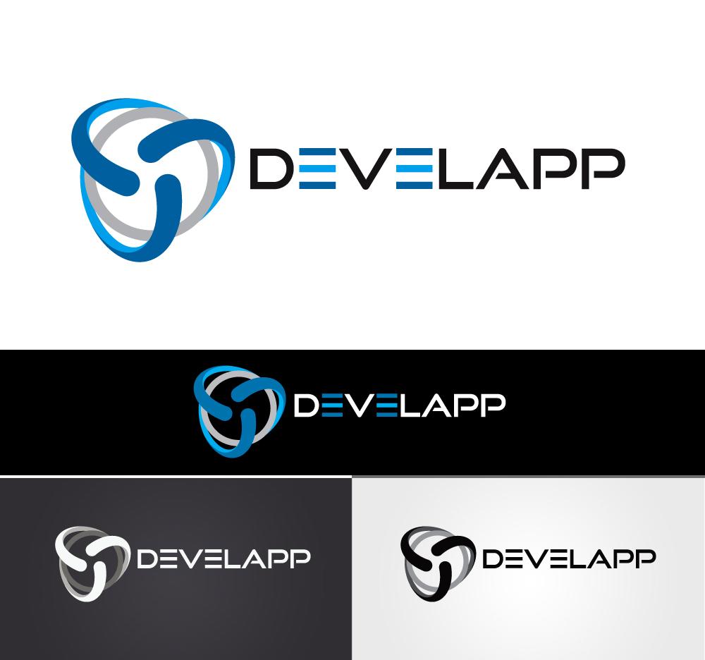 Modern professional software logo design for develapp by for Logo drawing program