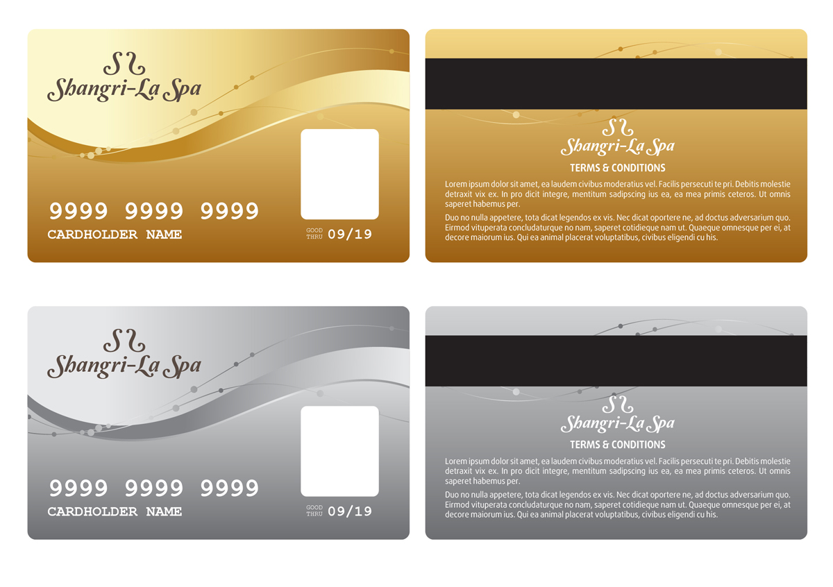 Attractive Graphic Design By Pinky For Spa Needs A Highly Desired Membership Card    Design #2586165 Ideas Membership Card Design