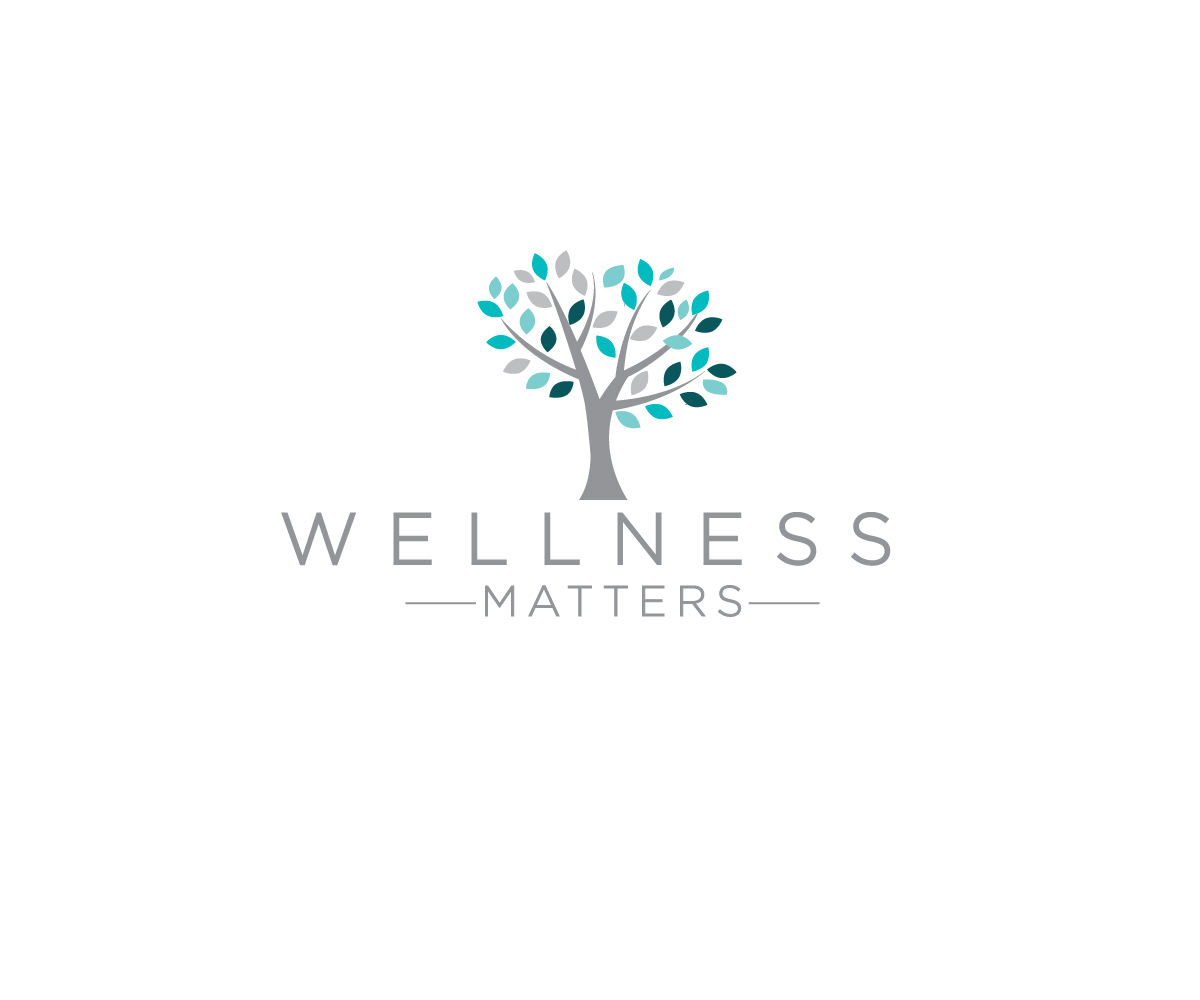 Bold, Modern, School Logo Design for Wellness Matters by