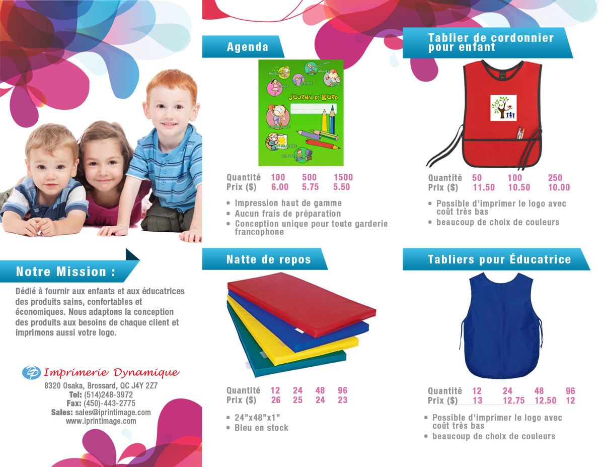 Daycare Flyer Design for a Company by D-Design | Design #576812