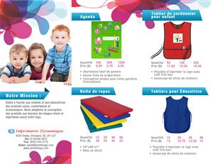 daycare flyer samples