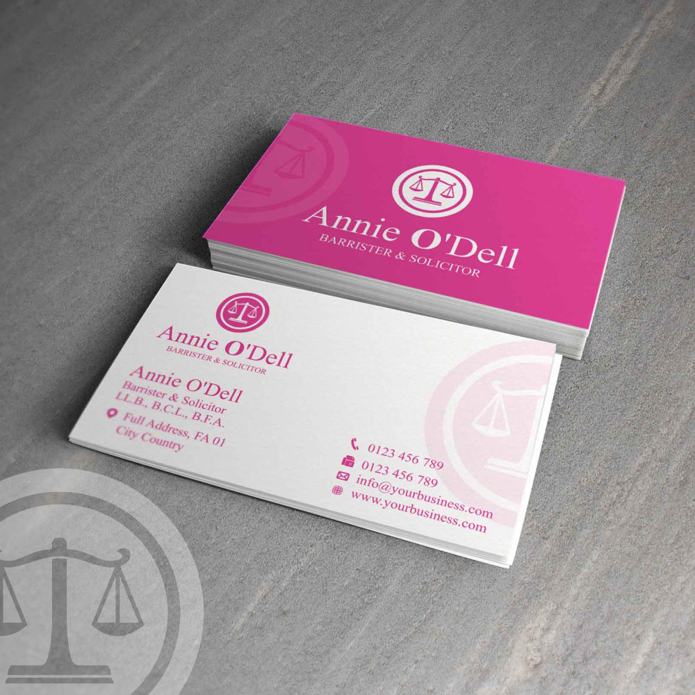 Playful, Bold Business Card Design for Annie O\'Dell by G234TD4Y ...