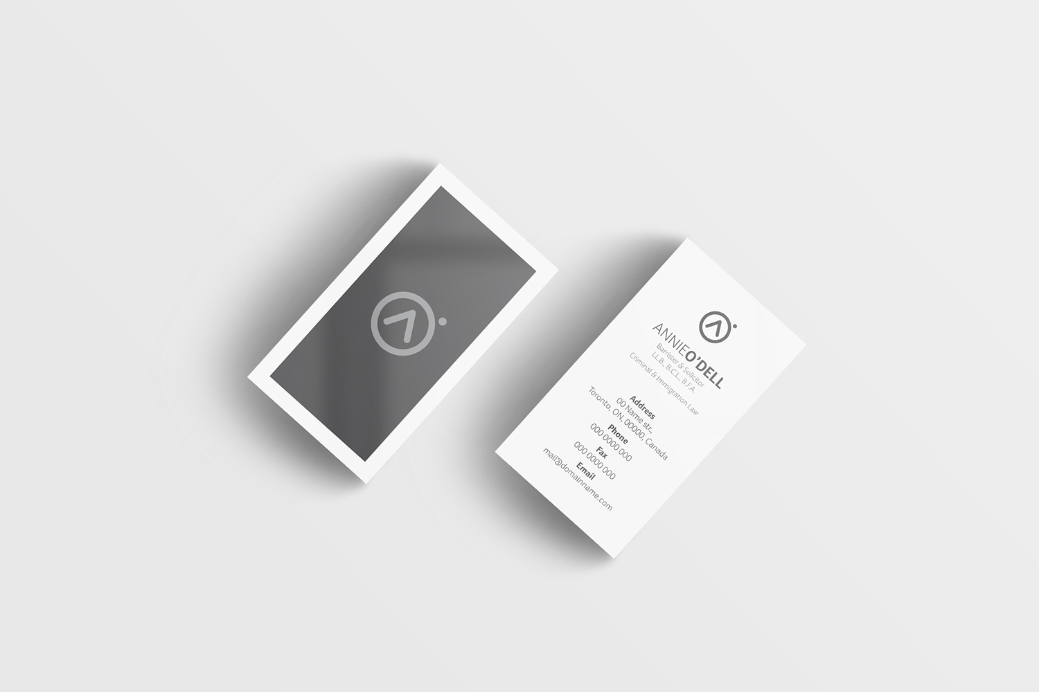 Playful, Bold Business Card Design for Annie O\'Dell by Tasos ...