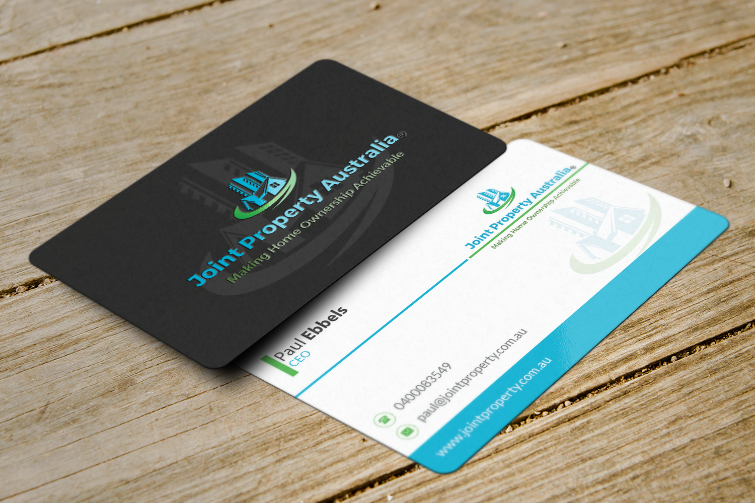 Professional bold real estate business card design for joint business card design by riz for joint property australia design 15139710 reheart Choice Image
