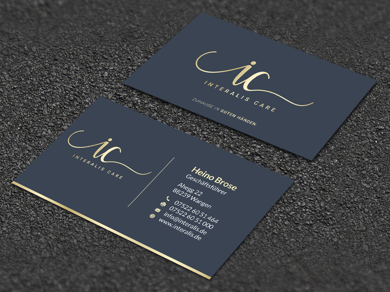 Elegant Playful Business Card Design Job Business Card