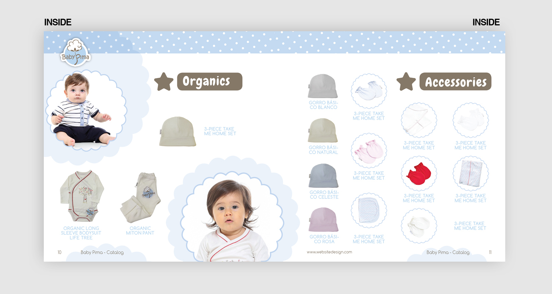Gehobenes Feminin Baby Katalog Design Für A Company Von Faton