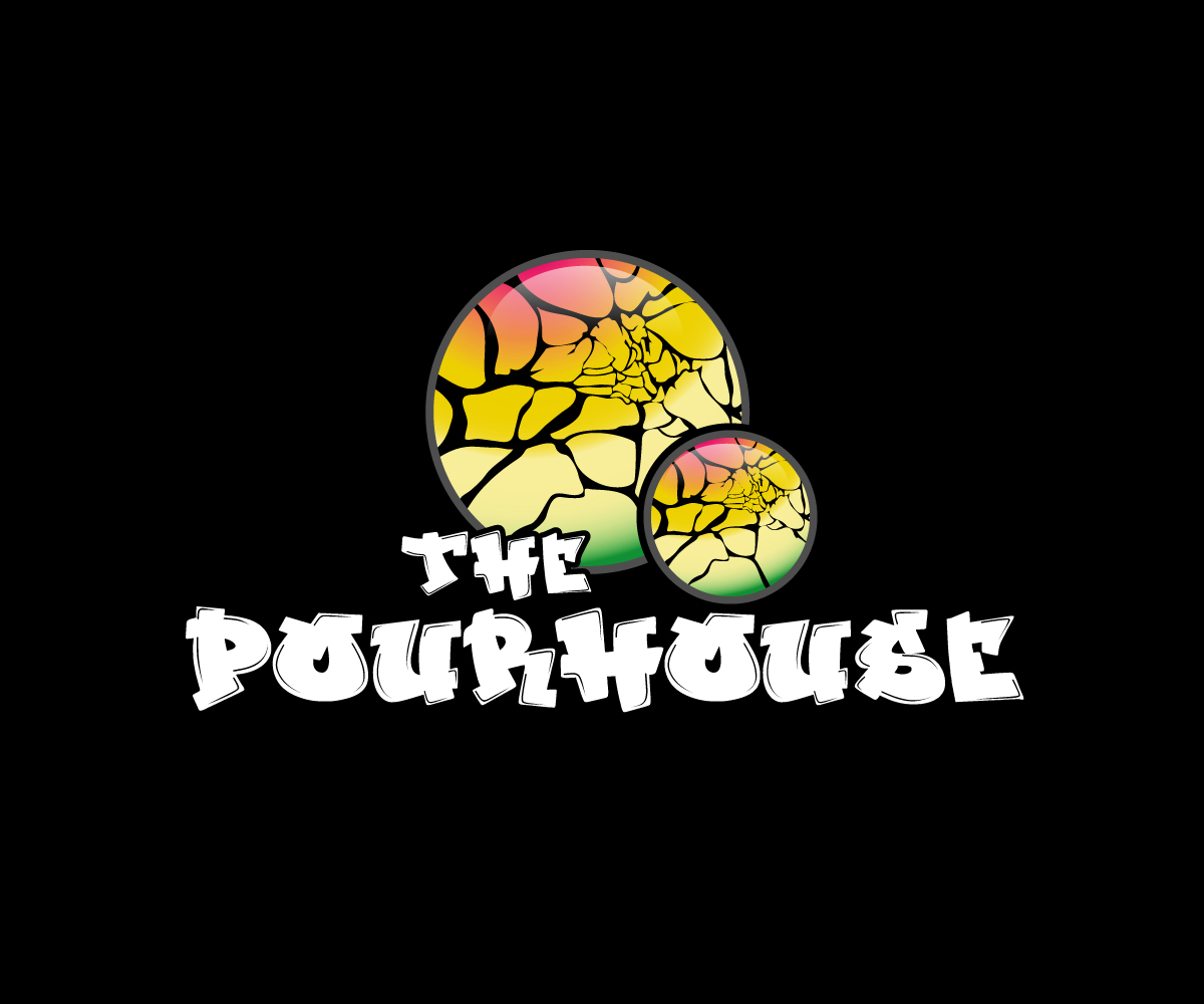 Bold Masculine Artists Logo Design For The Pour House By