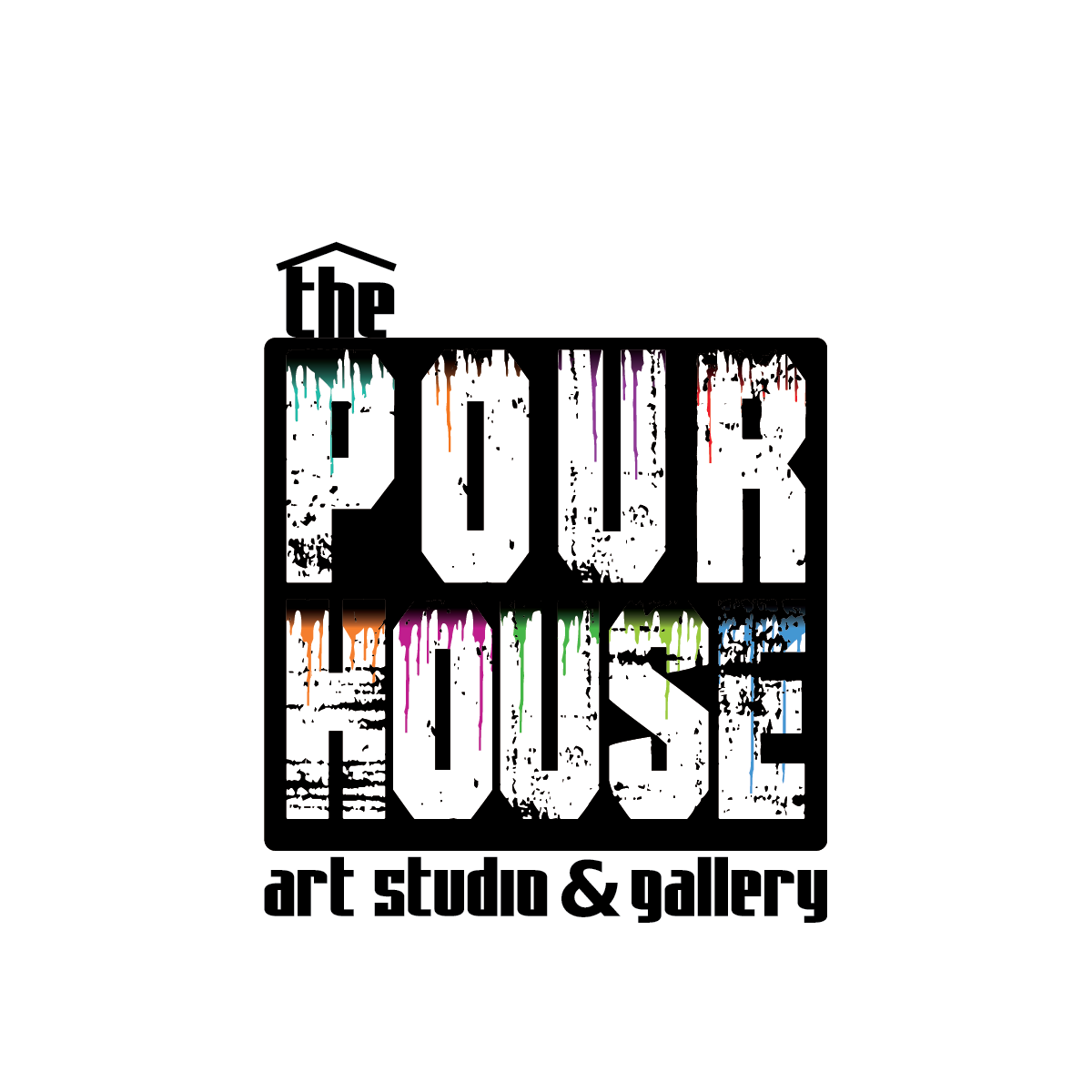 The Pour House Art Studio & Gallery Logo by Obolus