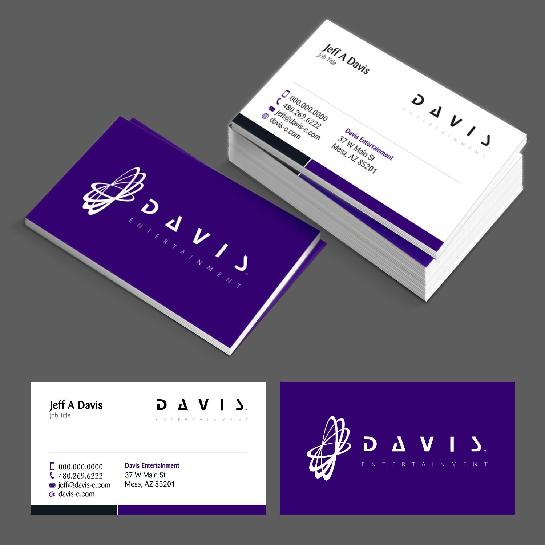Modern, Serious Business Card Design for Flux Enterprises by ...