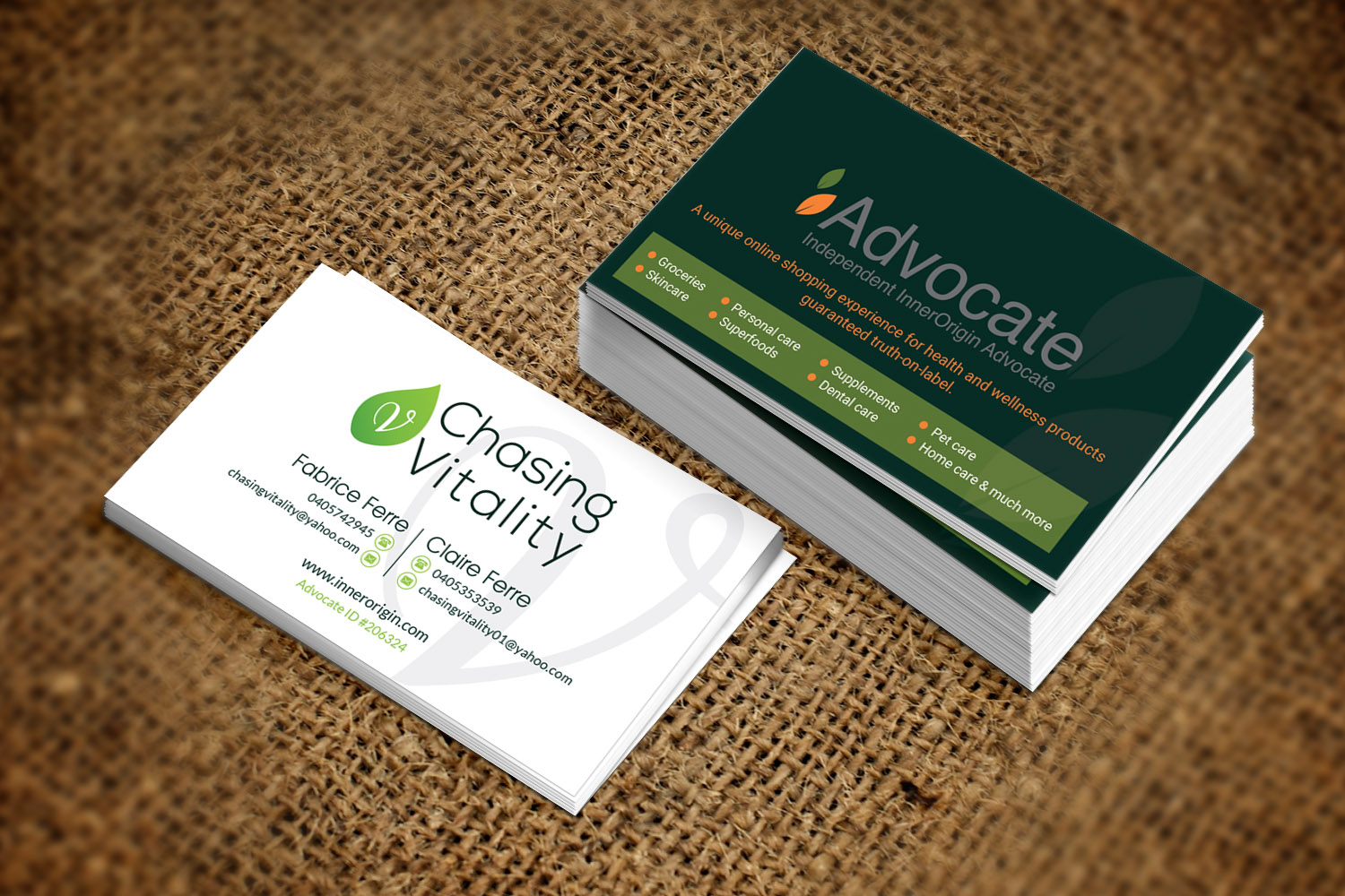 Personable, Economical, Health And Wellness Business Card Design for ...