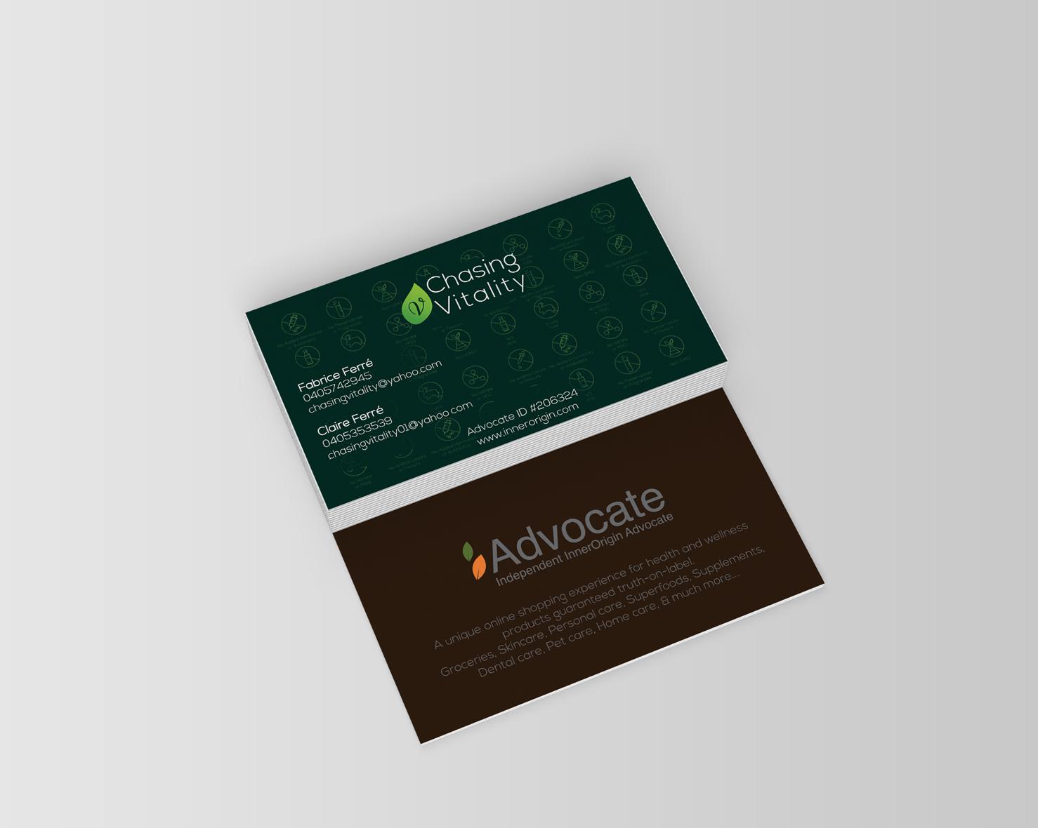 Design De Carte Visite Par Mahmoud Nasr Pour Ce Projet