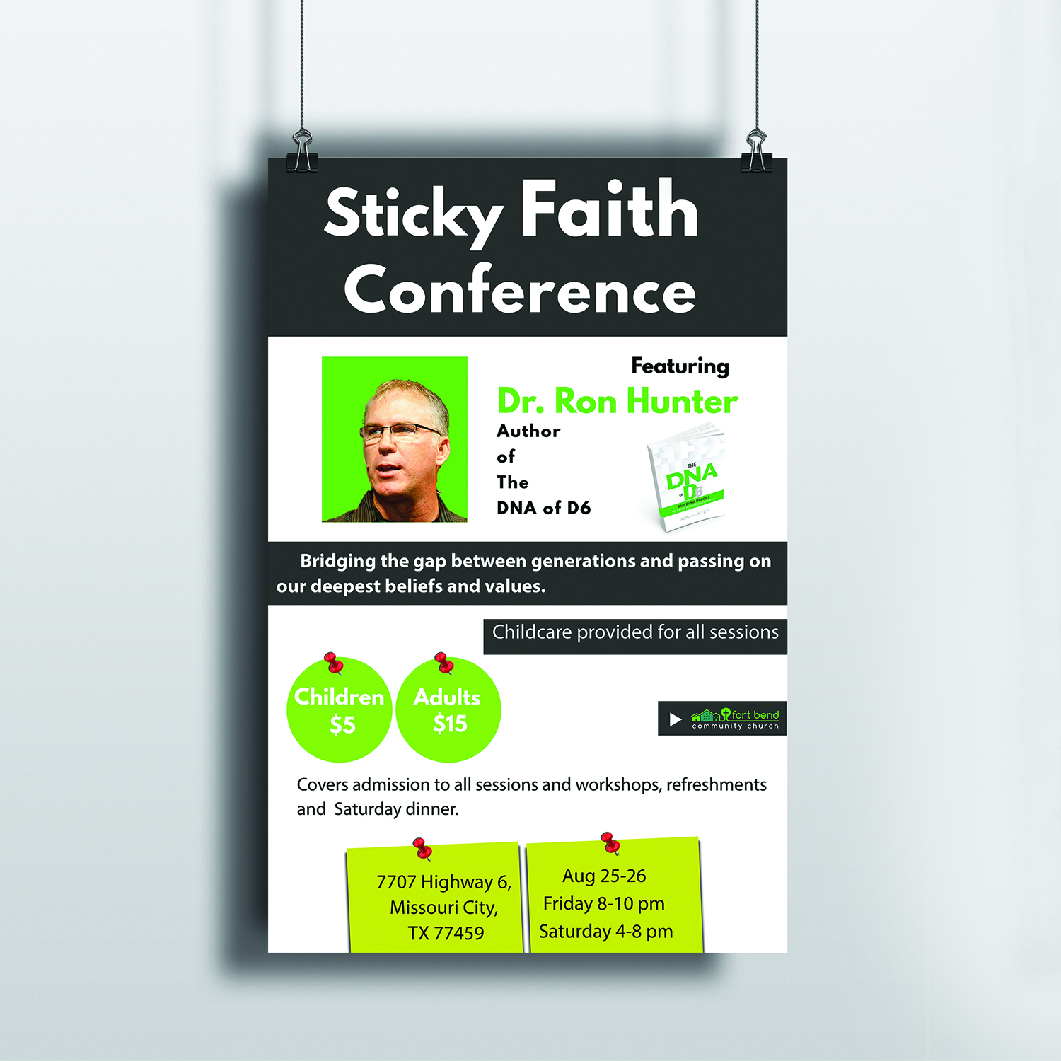 Poster design needed - Flyer Design By Noxal For Poster Needed For Church Conference Design 15167648