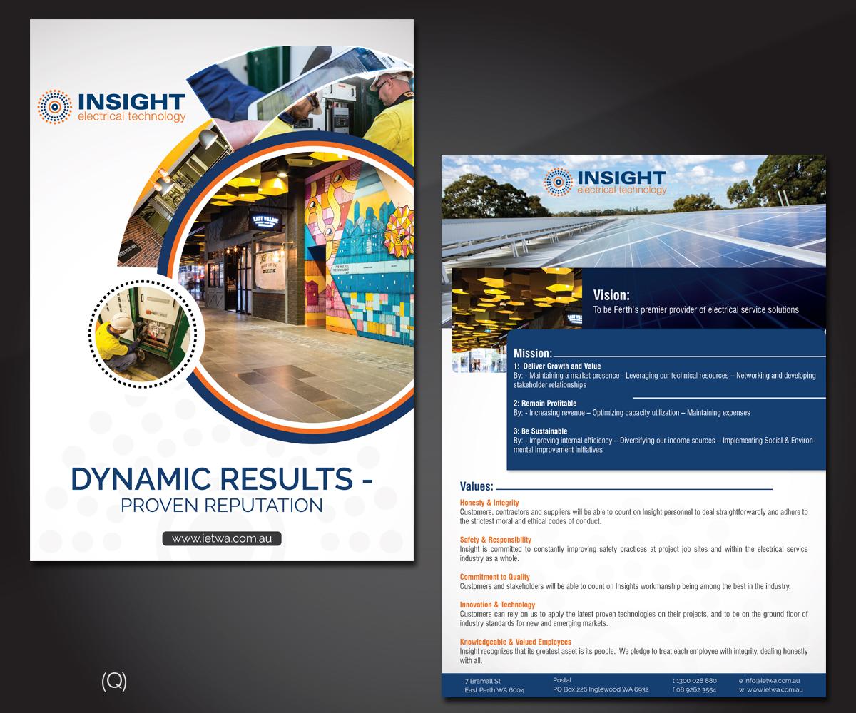 Flyer Design by Designanddevelopment for IET