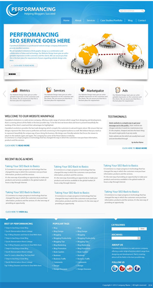 Wordpress Design #590576