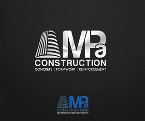 Logo Design by Rflames  - MPa Construction needs a Logo Design