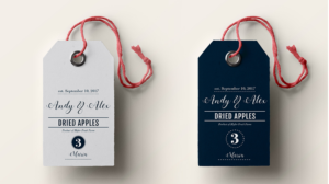 Elegant Playful Wedding Packaging Design By InkiCreative