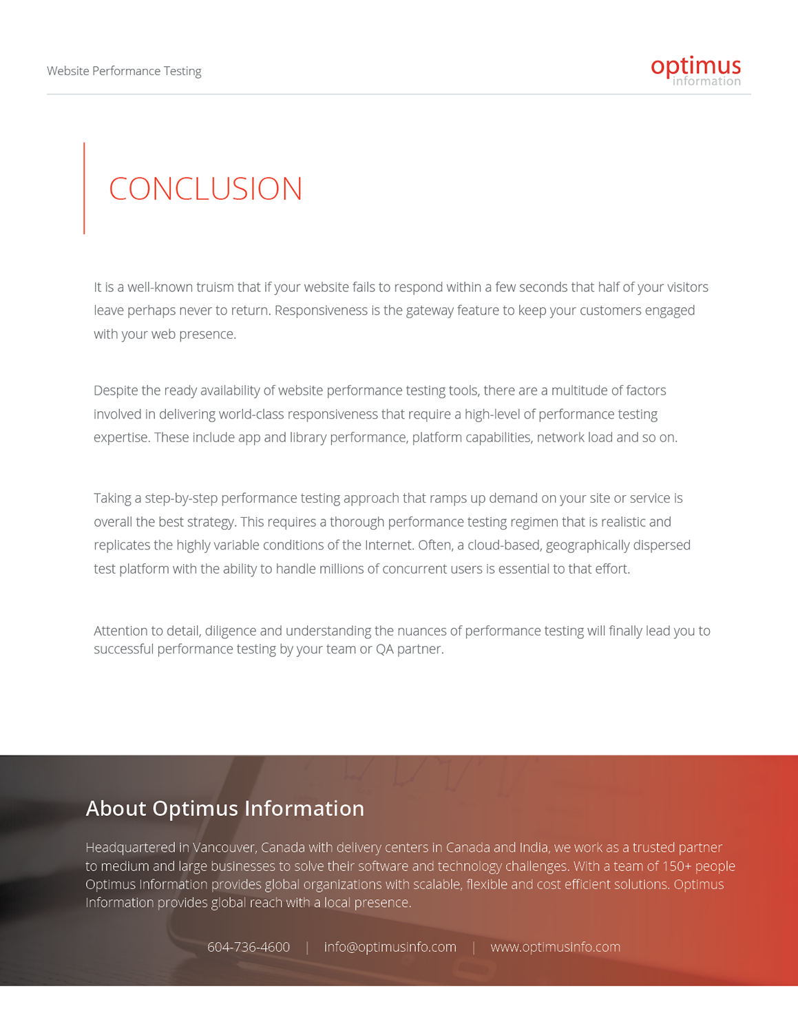 Modern, Professional, Digital Brochure Design for a Company by