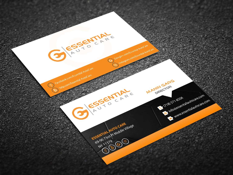 Modern, Feminine, Automotive Business Card Design for M-Spec ...