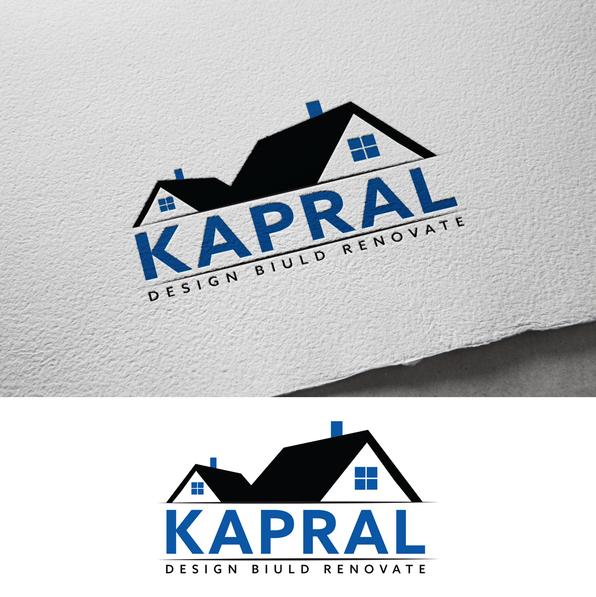 Bold, Masculine, Home Builder Logo Design for KAPRAL