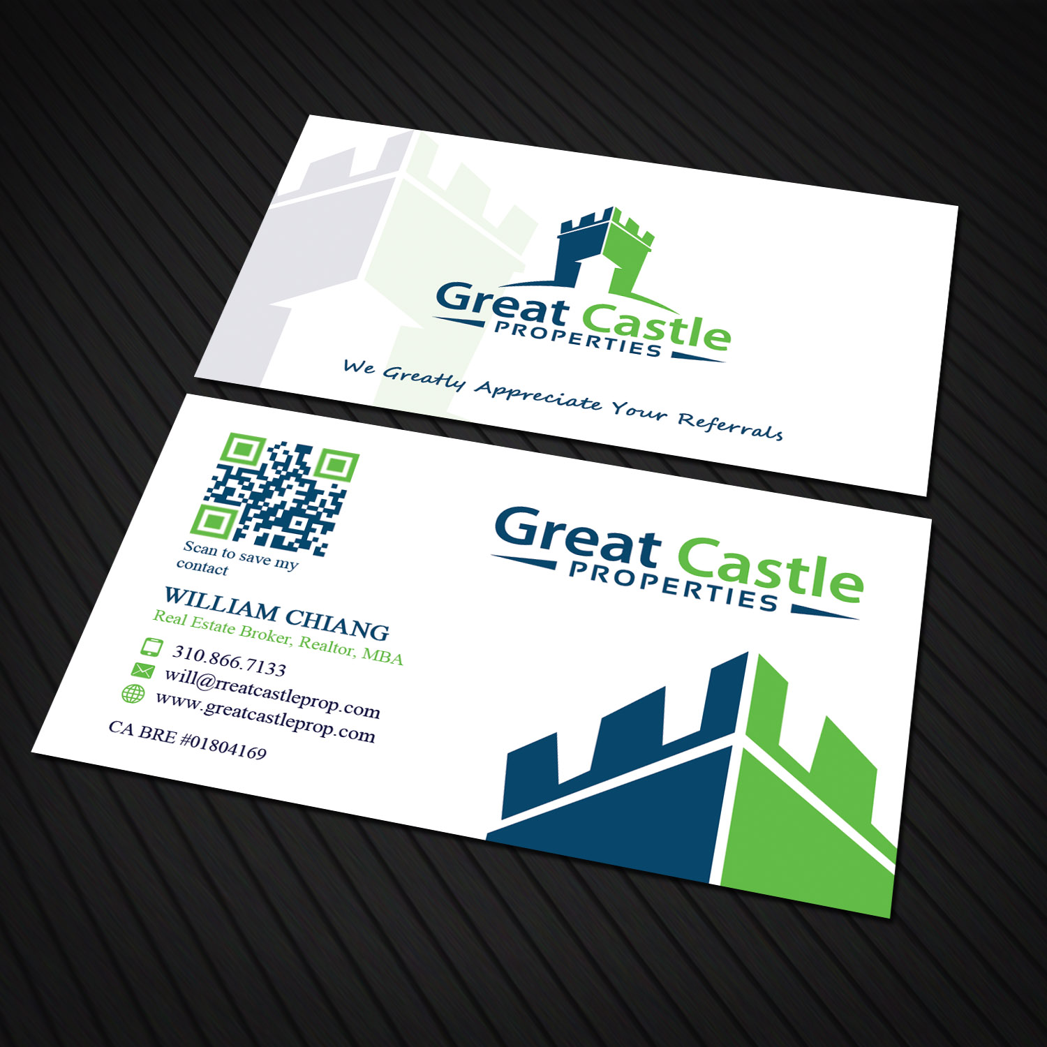 Upmarket Bold Business Business Card Design For A Company By