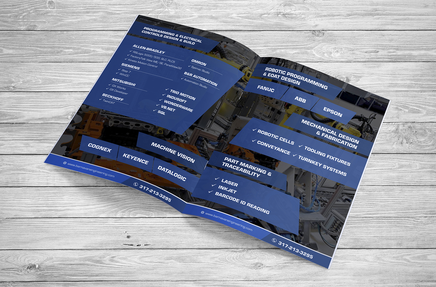 Bold, Serious, Manufacture Brochure Design for a Company by