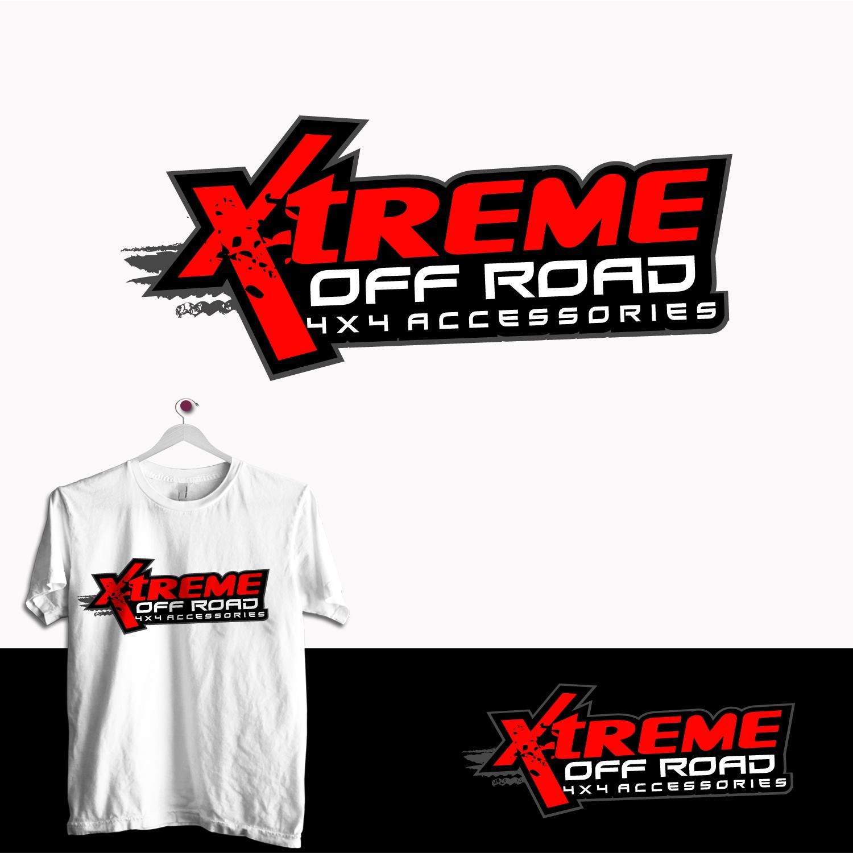 Masculine Bold Automotive Logo Design For Xtreme Off Road 4x4 Accessories By Trhz Design 15280059