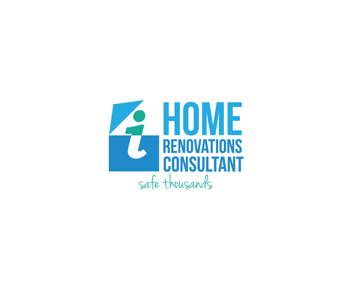 Playful Modern Consultant Logo Design For Home Renovations Consultant By Restless Design
