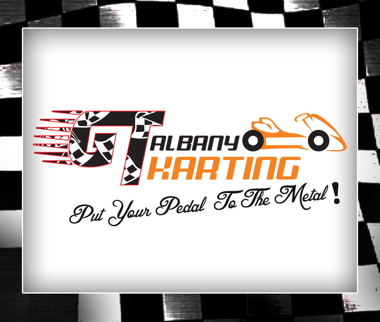 Graphic Design Logo Design for Albany GT Karting - Put Your