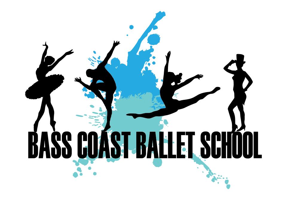 Bass Coast Ballet School Logo Design by alexUS25