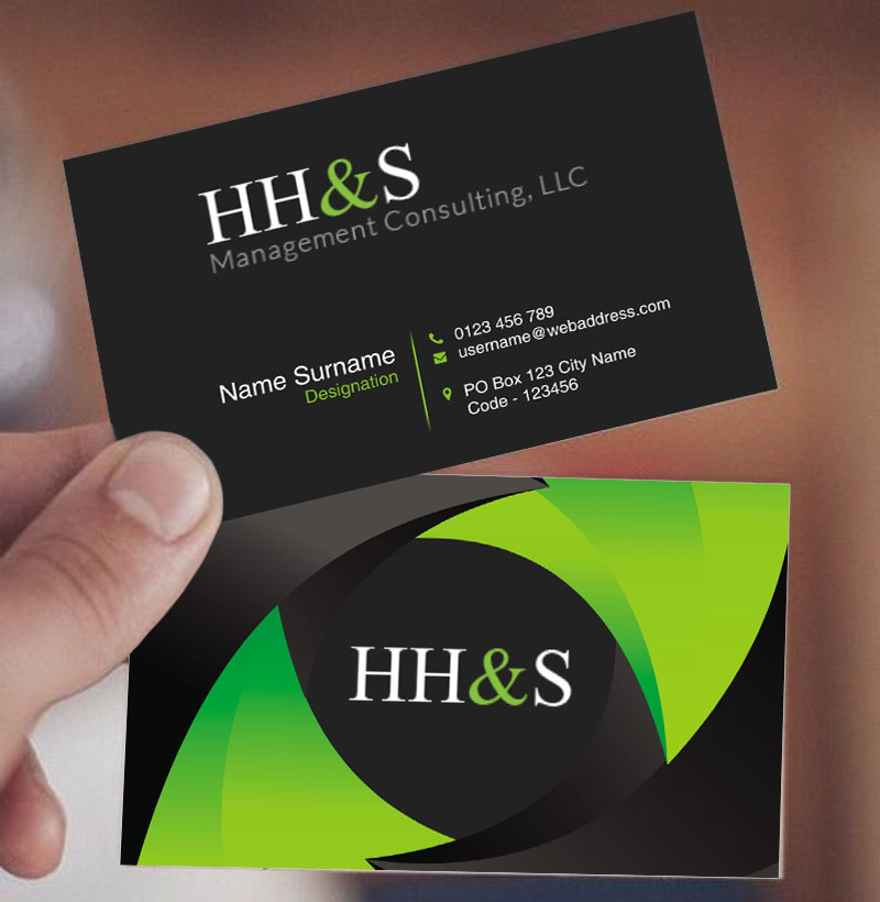 Business card design for hhs management consulting llc by business card design by creativedd for business card design project design 15209754 colourmoves Choice Image
