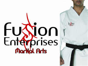 Logo Design by MaryNue - Fusion Enterprises Martial Arts Logo Design Pro...