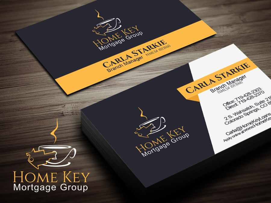 It company business card design for home key mortgage group by business card design by linduska for home key mortgage group design 15264384 colourmoves