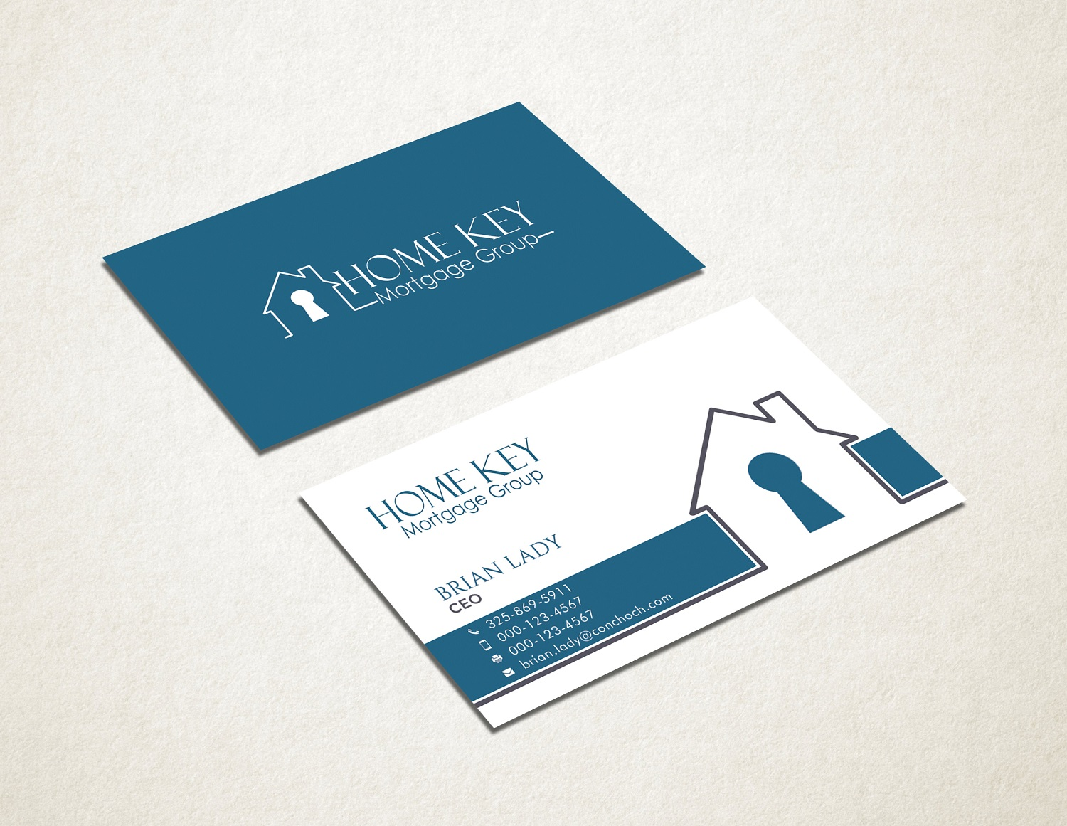 It company business card design for home key mortgage group by business card design by graphic flame for home key mortgage group design 15242910 colourmoves