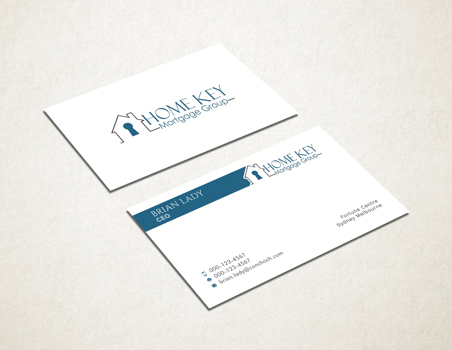 It company business card design for home key mortgage group by business card design by graphic flame for home key mortgage group design 15242914 colourmoves