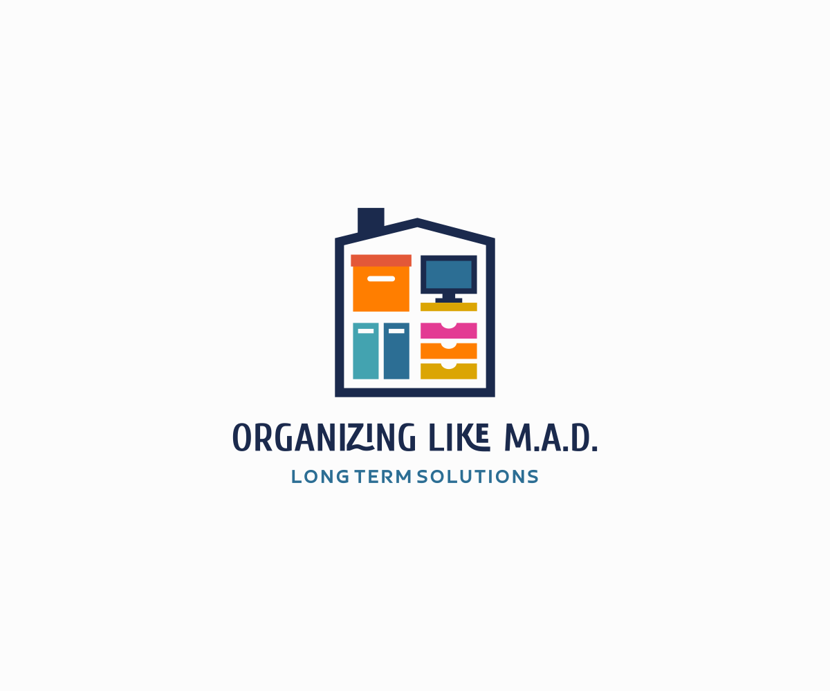 Logo design by luiz otavio i design for organizing like m a d design 15239700