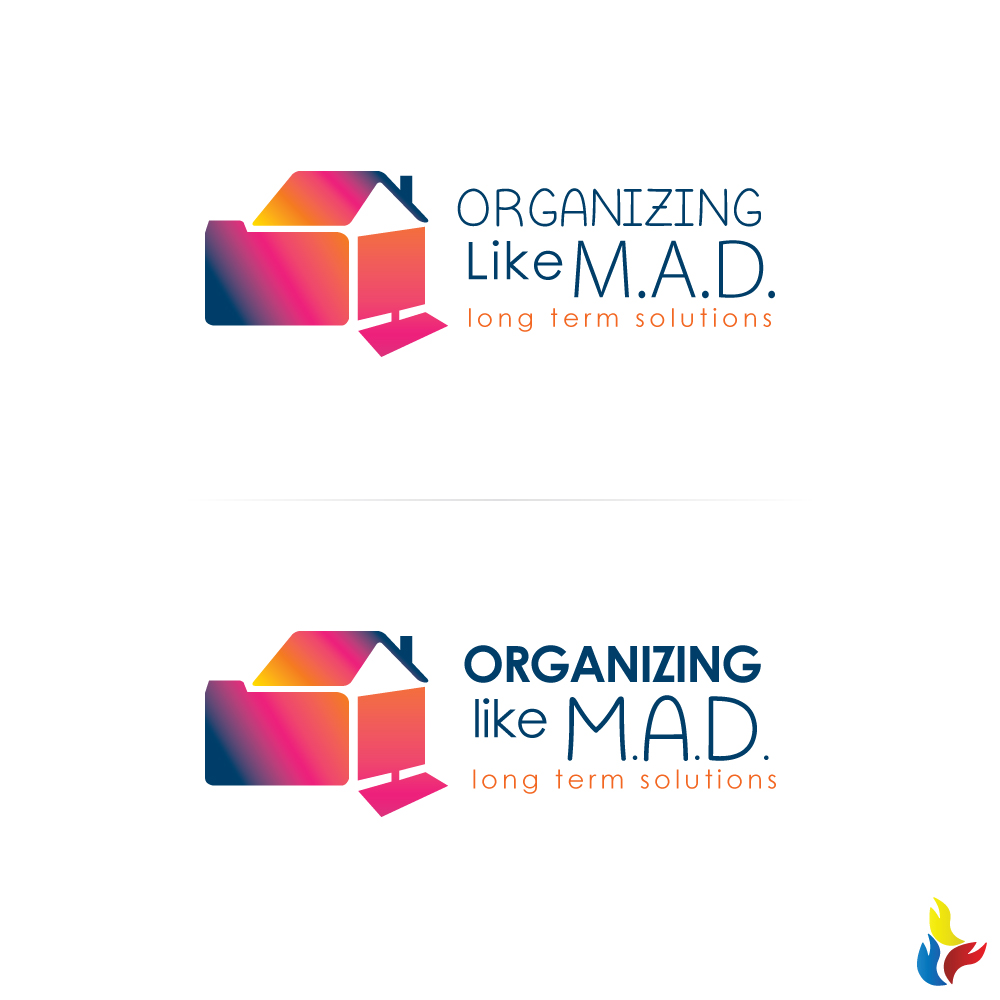 Logo design by kreative fingers for organizing like m a d design 15291958