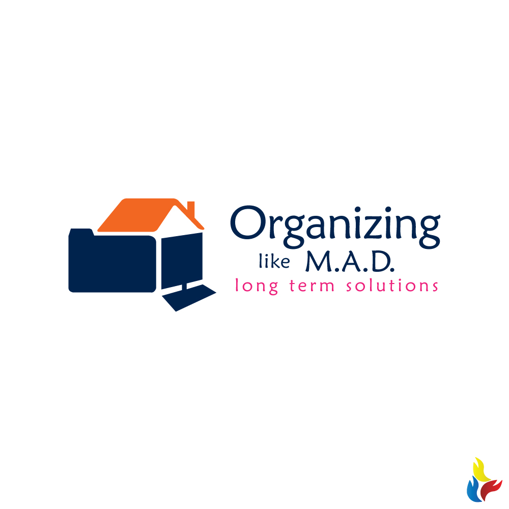 Logo design by kreative fingers for organizing like m a d design 15707081