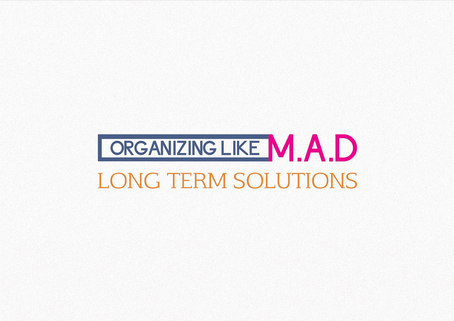 Logo design by pualam jiwa for organizing like m a d design 15247880