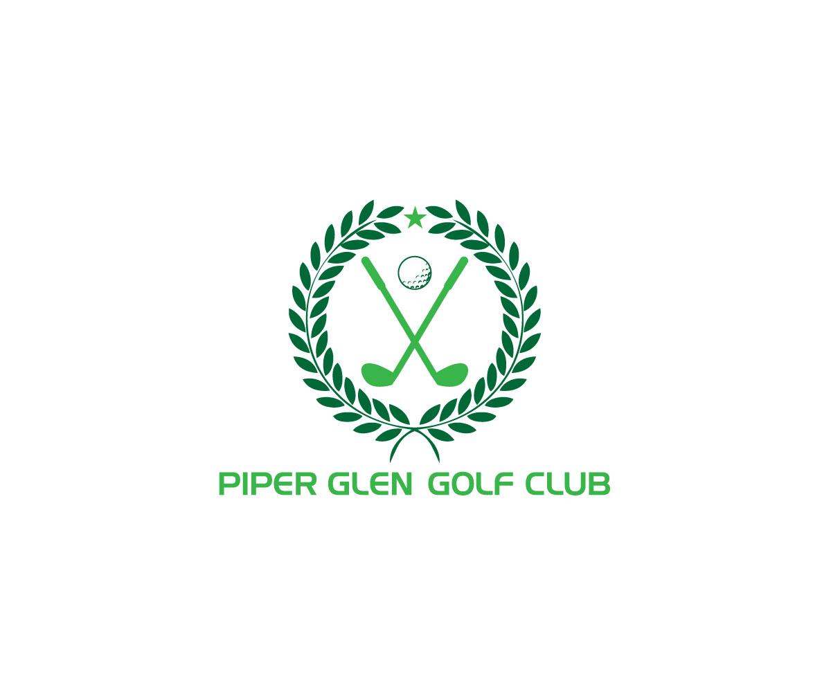 Bold Modern Golf Course Logo Design For Piper Glen Or Piper Glen Golf Club By Asman Design 15255796