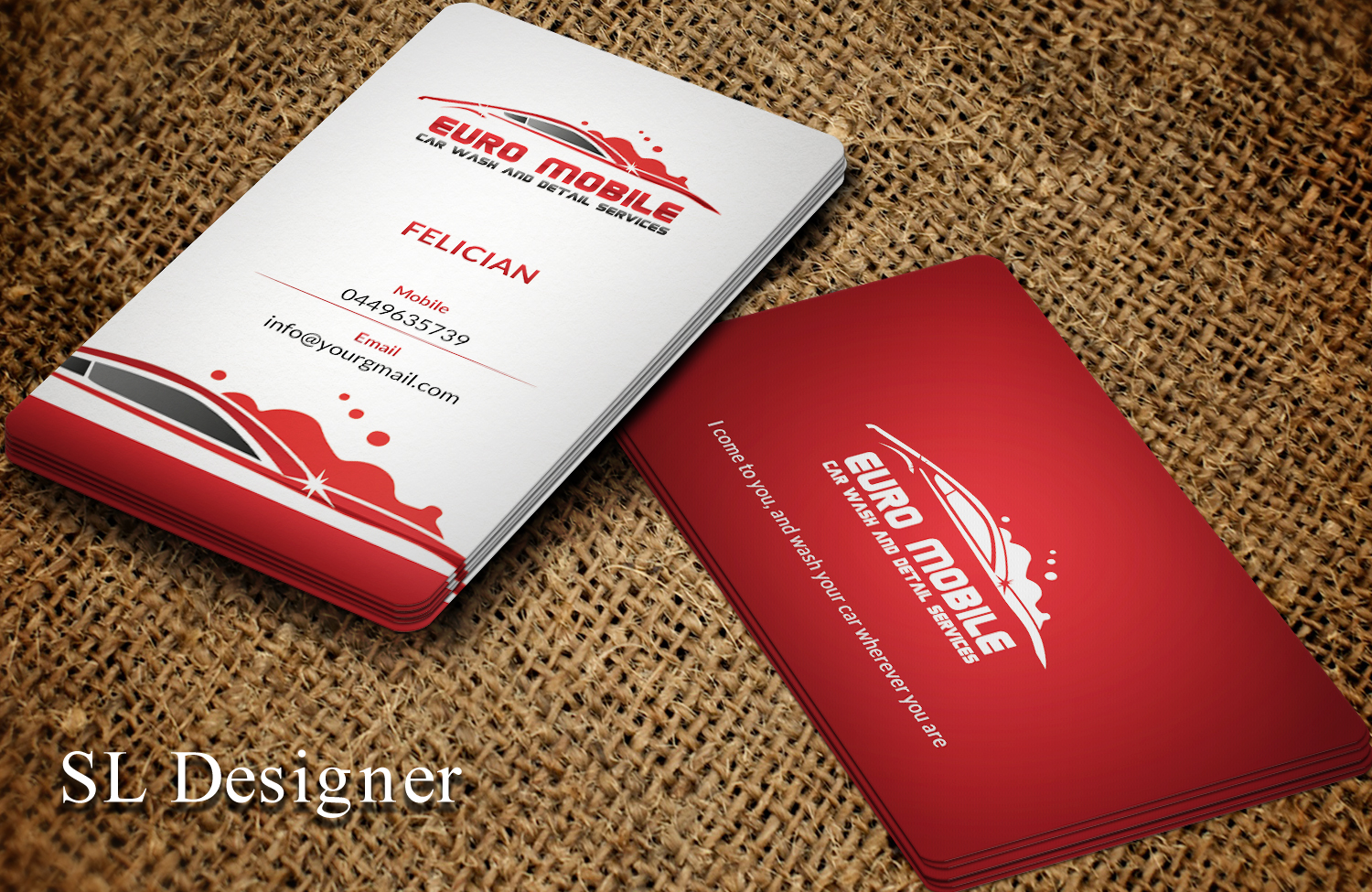 Business Card Design By SL Designer For This Project
