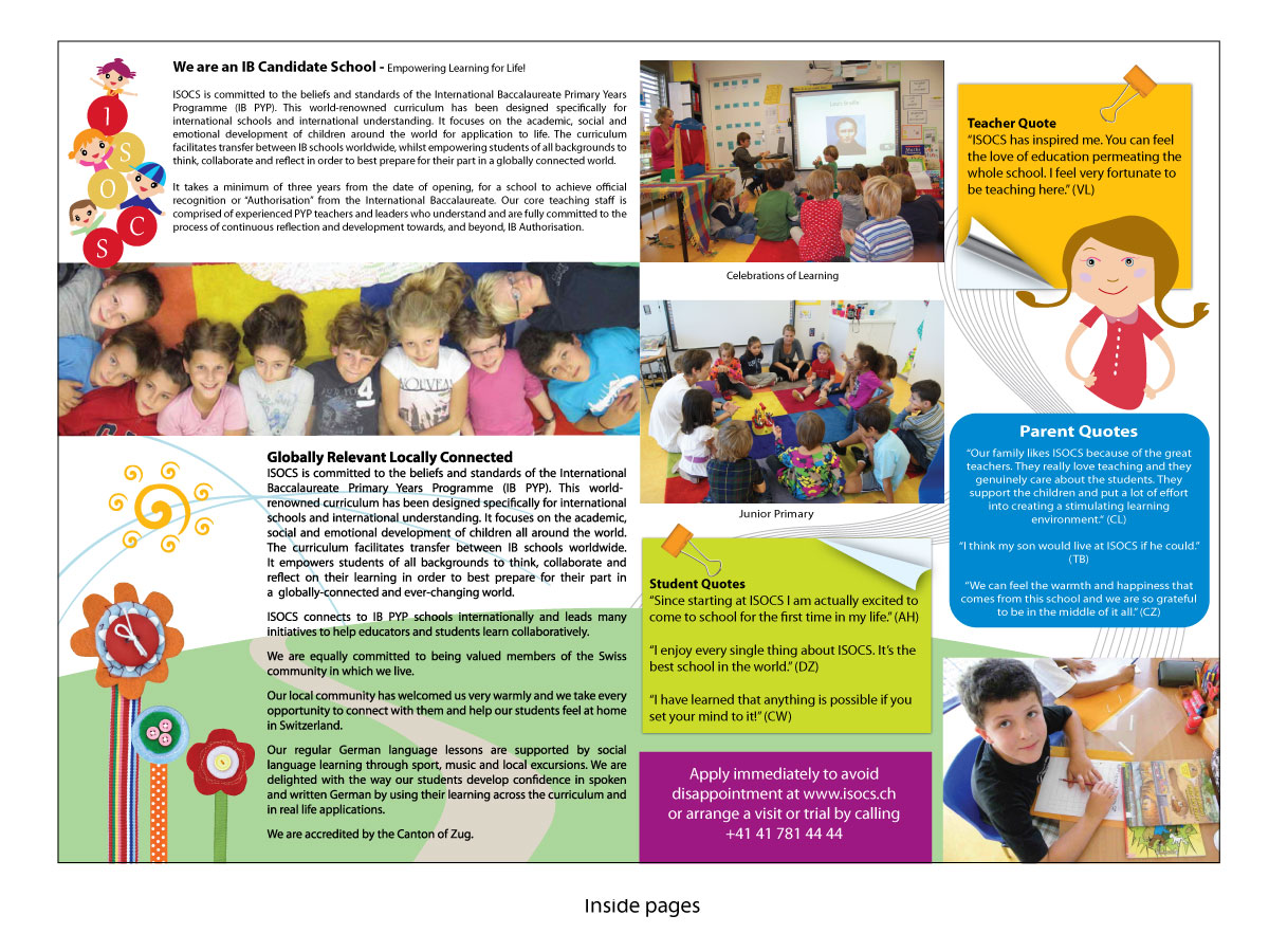 Poster design fee - Flyer Design By Creaciondesigual For International School Flyer Poster Design 583142
