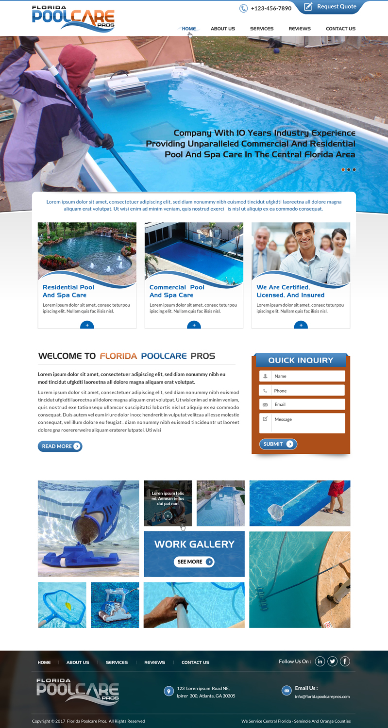 Bold Professional It Company Web Design For A Company By Sbss Design 15277249
