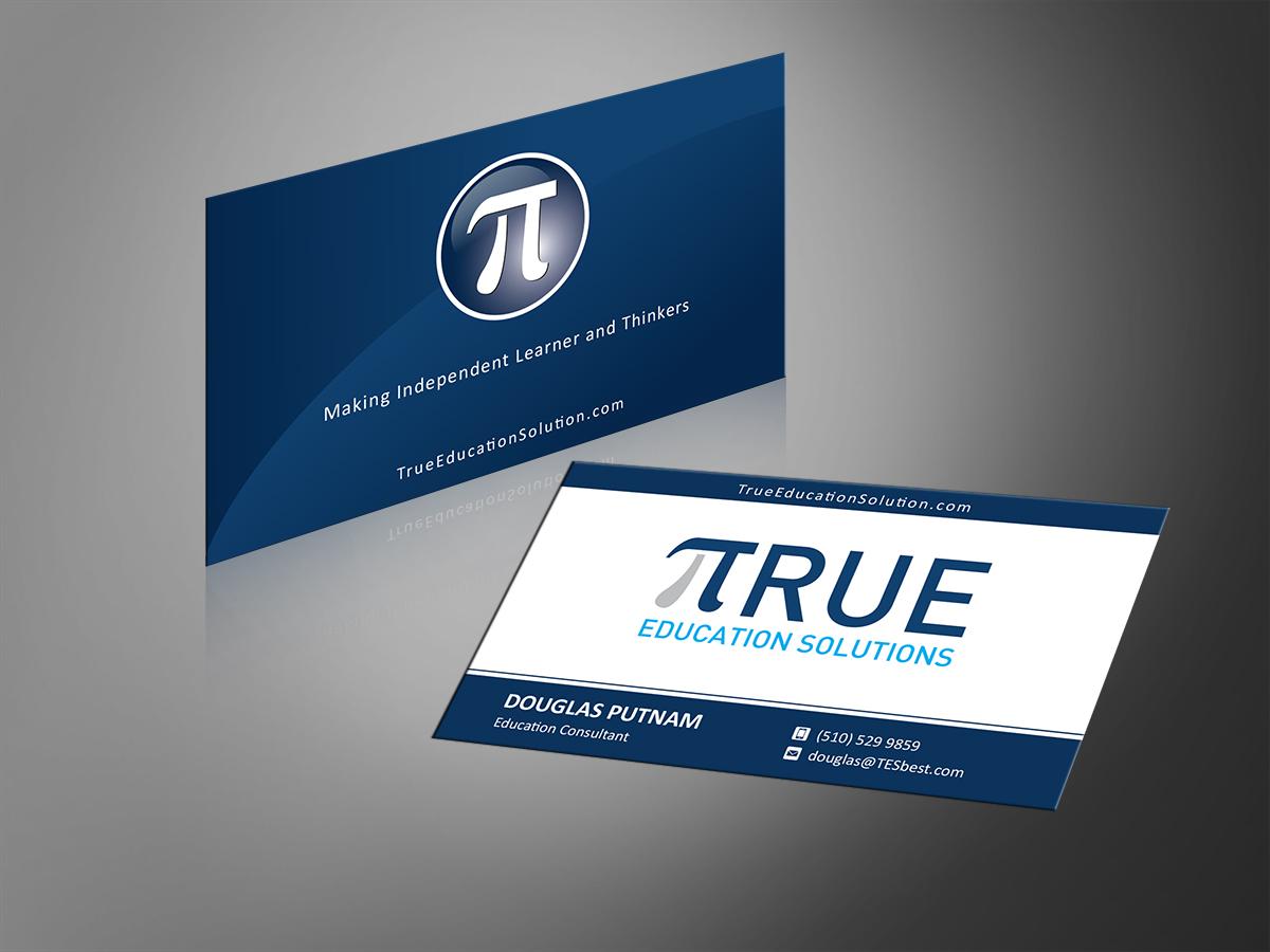 Serious, Professional Business Card Design for Douglas Putnam by MT ...