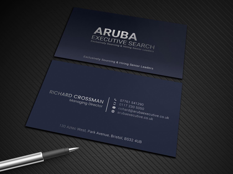 Elegant, Serious Business Card Design for Richard Crossman by ...