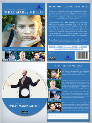 Poster Design by kaatem - What Makes Me Tic? DVD Cover/Label and Film Poster